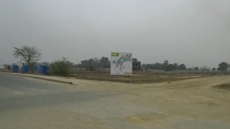 5 Marla Plot For Sale DHA Phase 9 Prism Very Good Location And Very Low Price