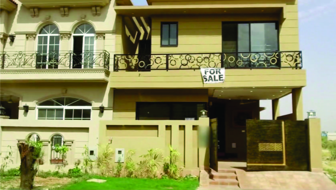 DHA LAHORE PHASE 6 BEAUTIFUL BRAND NEW HOUSE FOR SALE VERY GOOD LOCATION VERY LOW PRICE