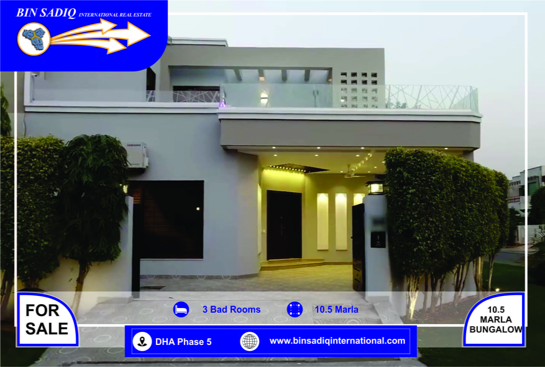 DHA Lahore Phase 5 10 Marla Full Furnished House Available for sale